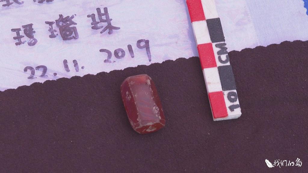 考古遺址發掘出一顆顆精緻的瑪瑙珠,印證了當時西班牙人的紀錄。