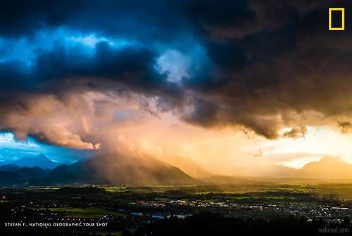 Sunset Nature Photography Austria