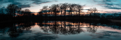 bellevue state park 1755mm f28 eos 760d canon rebel t6s efs1755mmf28isusm efs dusk water lake sky clouds sunset 2020 winter wilmington panorama delaware february outside outdoor nature