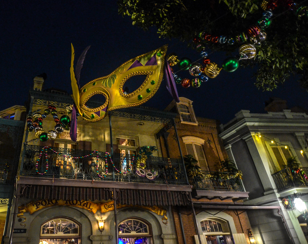 New Orleans Square mask night DL