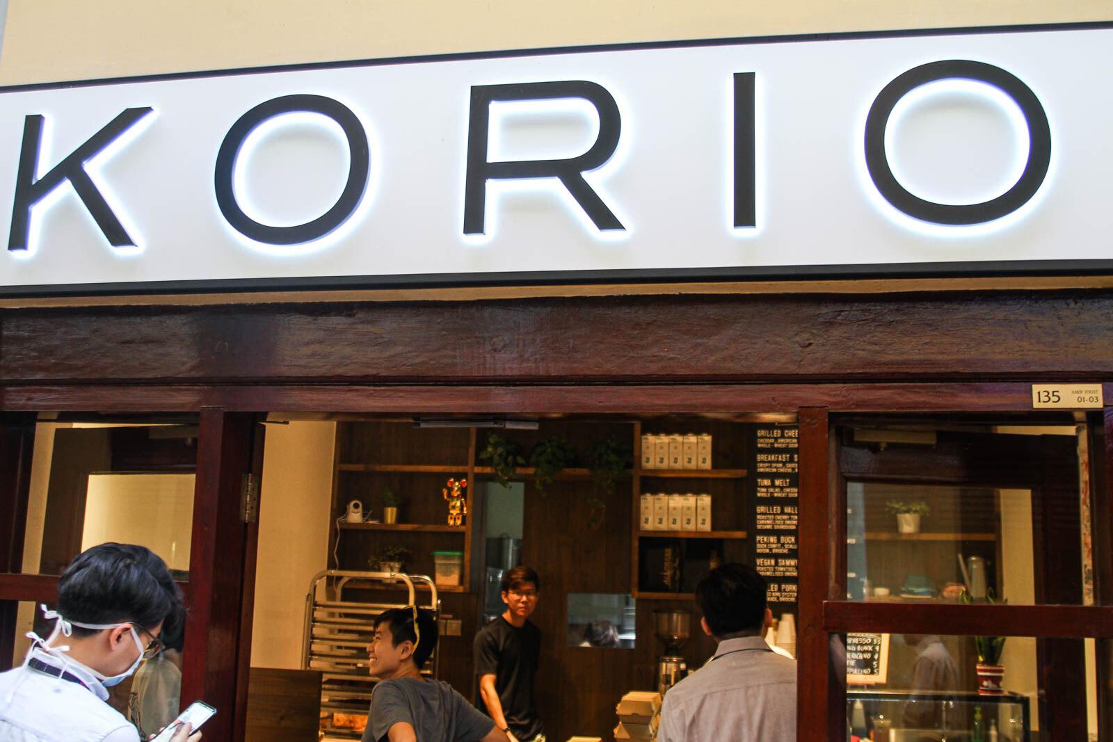 Korio Shopfront