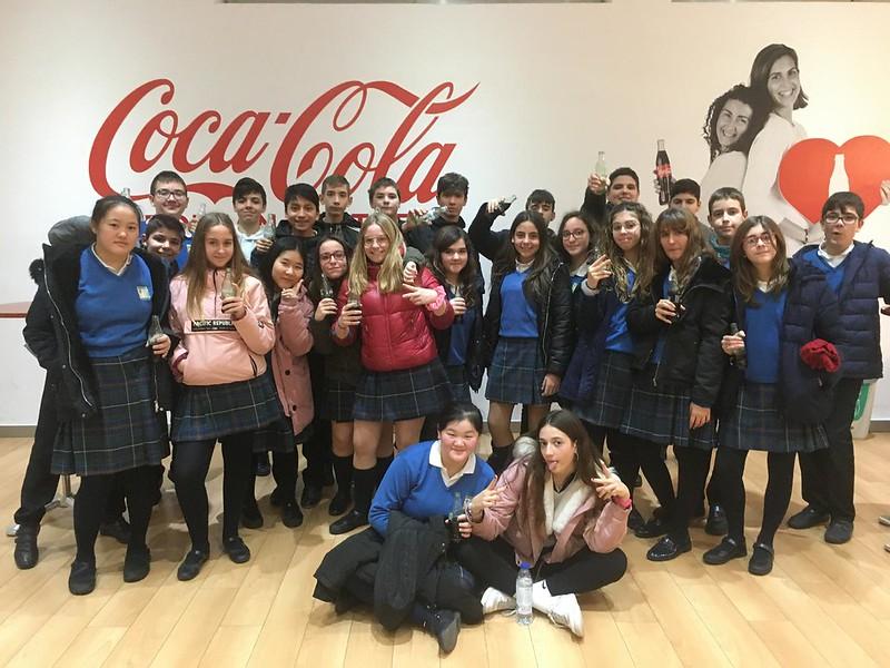 Visita Coca-Cola 19-20