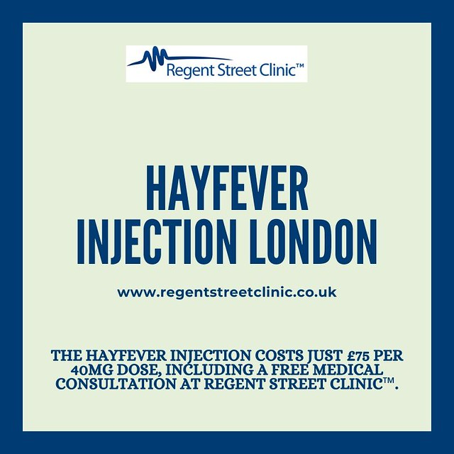 Hay Fever Injections London