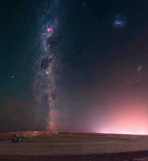 Summer Milky Way at Boddington, Western Australia