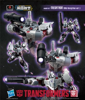 Flame Toys Fural Model 系列 變形金剛【密卡登 IDW 狂派 ver.】Megatron IDW Decepticon ver. Model Kit 組裝模型