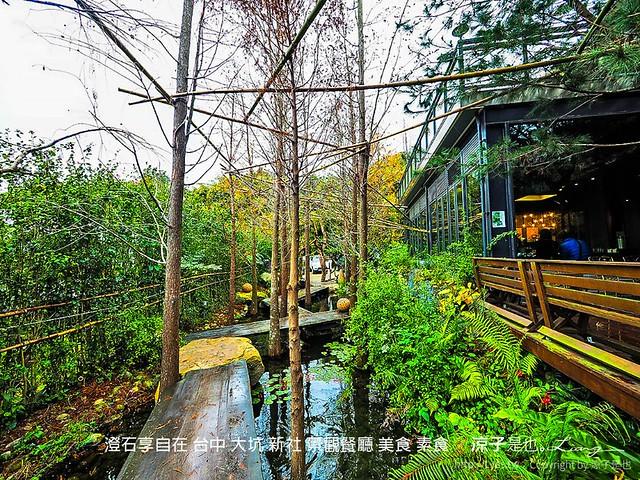 澄石享自在 台中 大坑 新社 景觀餐廳 美食 素食