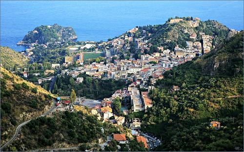 claudelina italie italia italy sicile sicilia taormina taormine castelmola paysage landscape casteldimola méditerranée mer sea