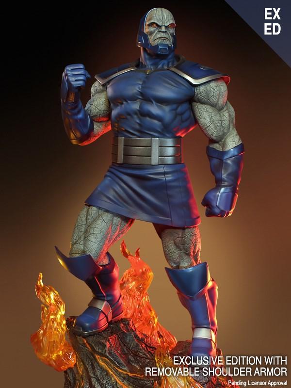 強悍的殘虐暴君襲來! Tweeterhead Super Powers Collection 系列 DC Comics【達克賽德】Darkseid 1/6 比例全身雕像 普通版/EX版