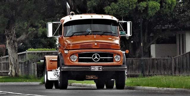 Mercedes Benz at Longwarry