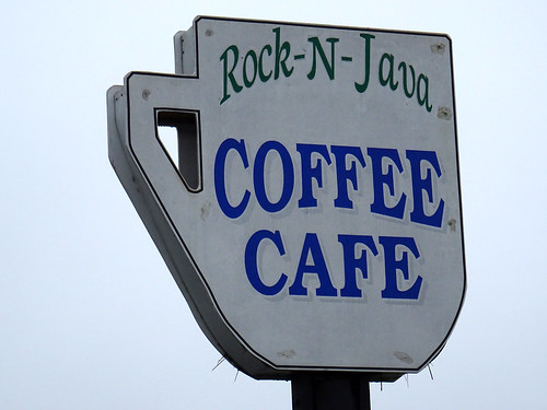 dsc00722 mrieder markusrieder vacation urlaub fotoreise phototrip usa 2018 usa2018 sonydschx60 arkansas clinton coffee cafe rocknjava sign schild