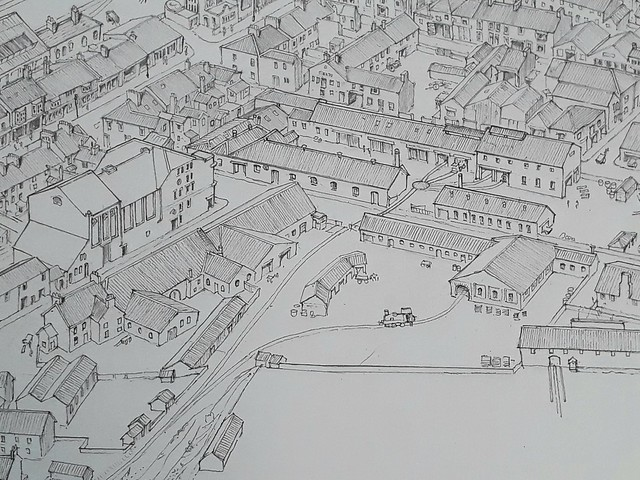 Railway town (WiP 10): The Lingford, Gardiner and Company works