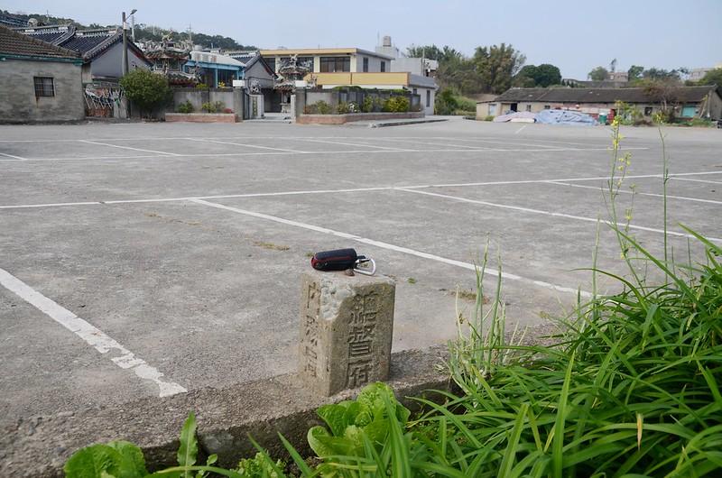 法龍寺總督府內務局水準點(# 町杭140 Elev. 111 m) (1)