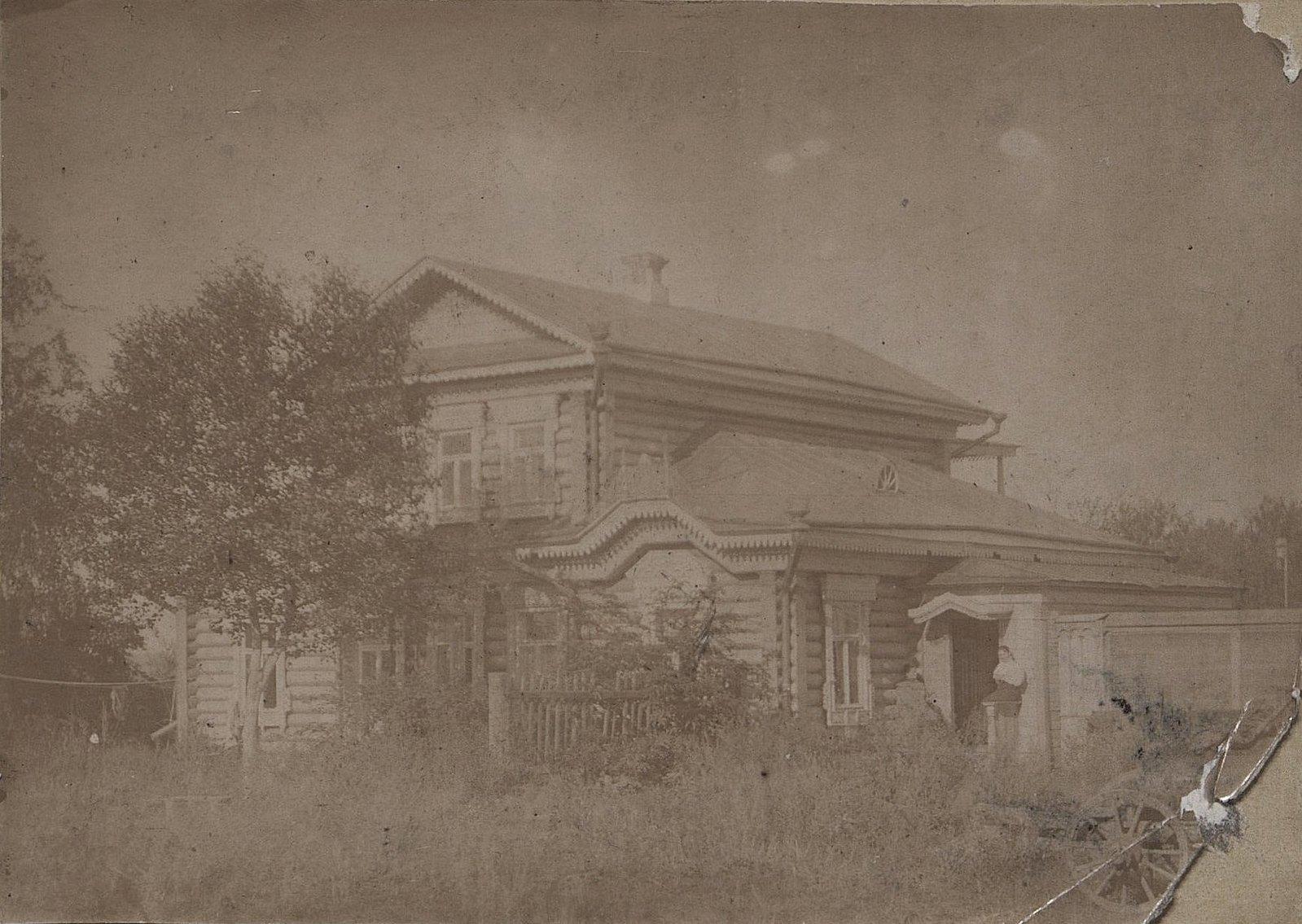 25. Жилой дом во дворе завода Завьялова, в котором жил управляющий. 1890-е