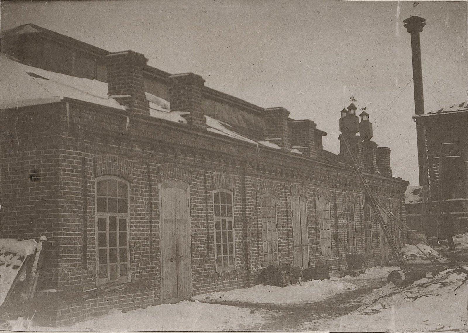 22. Кузнечный цех завода Завьялова. 1890-е