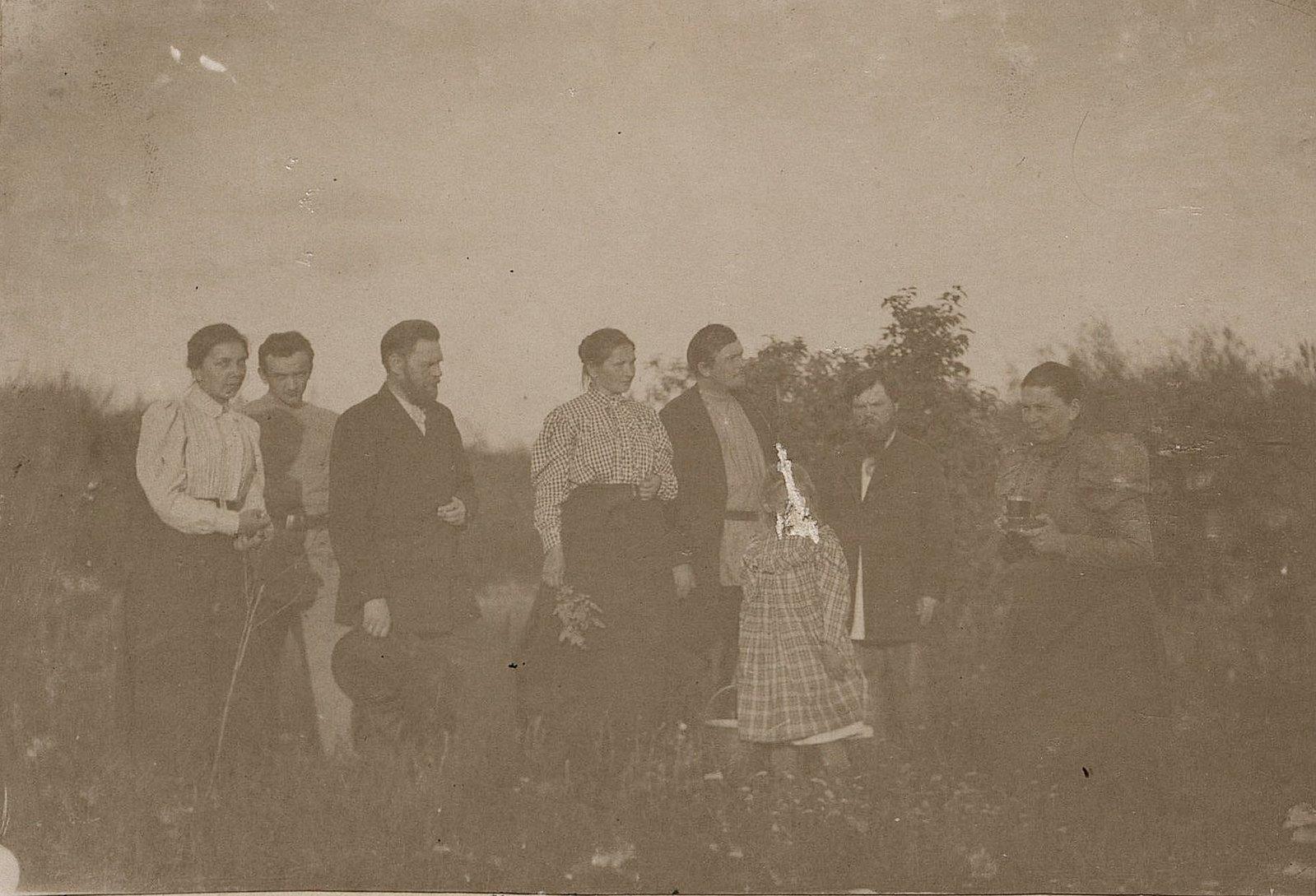 08. Члены семьи Савельевых. 1890-е