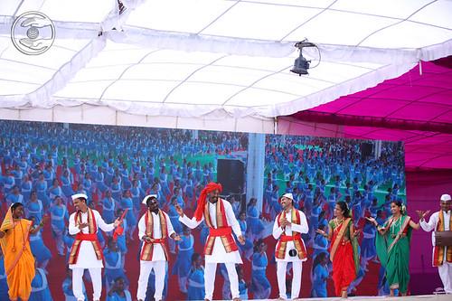 Skit and dance presented Bharud folk