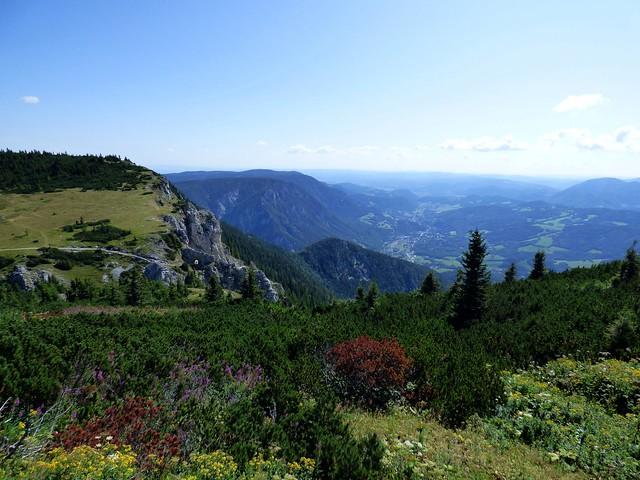 Blick ins Schwarzatal / View of the Schwarzatal