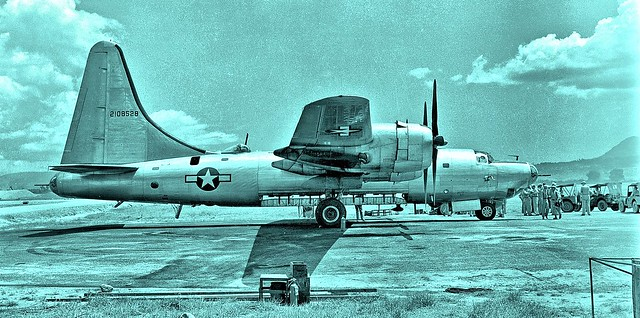 Consolidated B-32 Dominator at Clark Field, Philippines May 1945