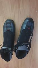 boty na běžky ALPINA TR40, vel.cca 42,5, podrážka  - titulní fotka