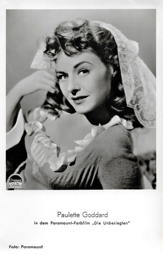 Paulette Goddard in Unconquered (1947)