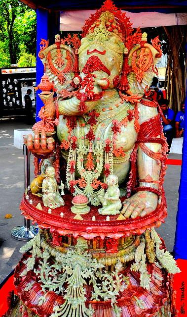 Onyx Ganesh Sculpture