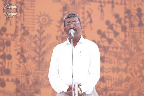 Speech in Marathi by Anil Sakpal, Mahad, MH