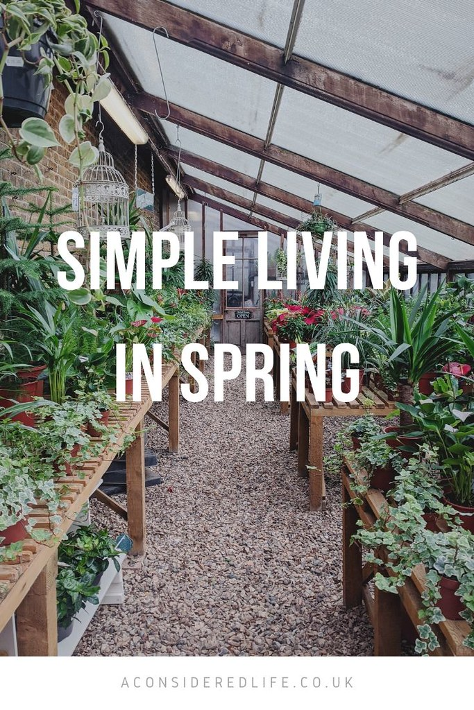 Simple Living In Spring