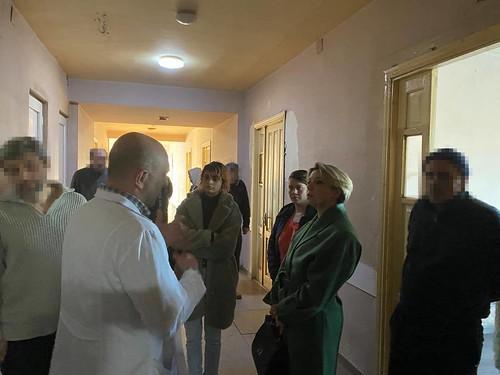 სახალხო დამცველმა თბილისის ფსიქიკური ჯანმრთელობის ცენტრი მოინახულა / 14.02.2020 / Public Defender Visits Tbilisi Mental Health Center