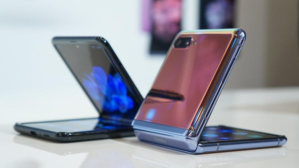 Galaxy Z Flipシリーズのフレックスモード