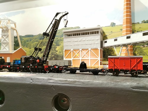 Ransomes and Rapier Steam Crane Dcc. | by Robbert Jan.