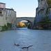 Vaison (Vaucluse) : l'Ouvèze et le pont romain