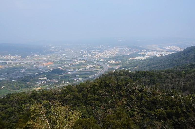平河慈惠堂西北俯瞰銅鑼地區