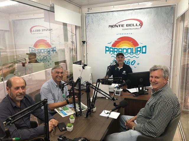 14/02/2020 Entrevista na rádio Maristela, sede de verão de Torres