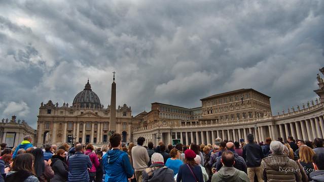 Rom Vatikanstadt - Petersplatz
