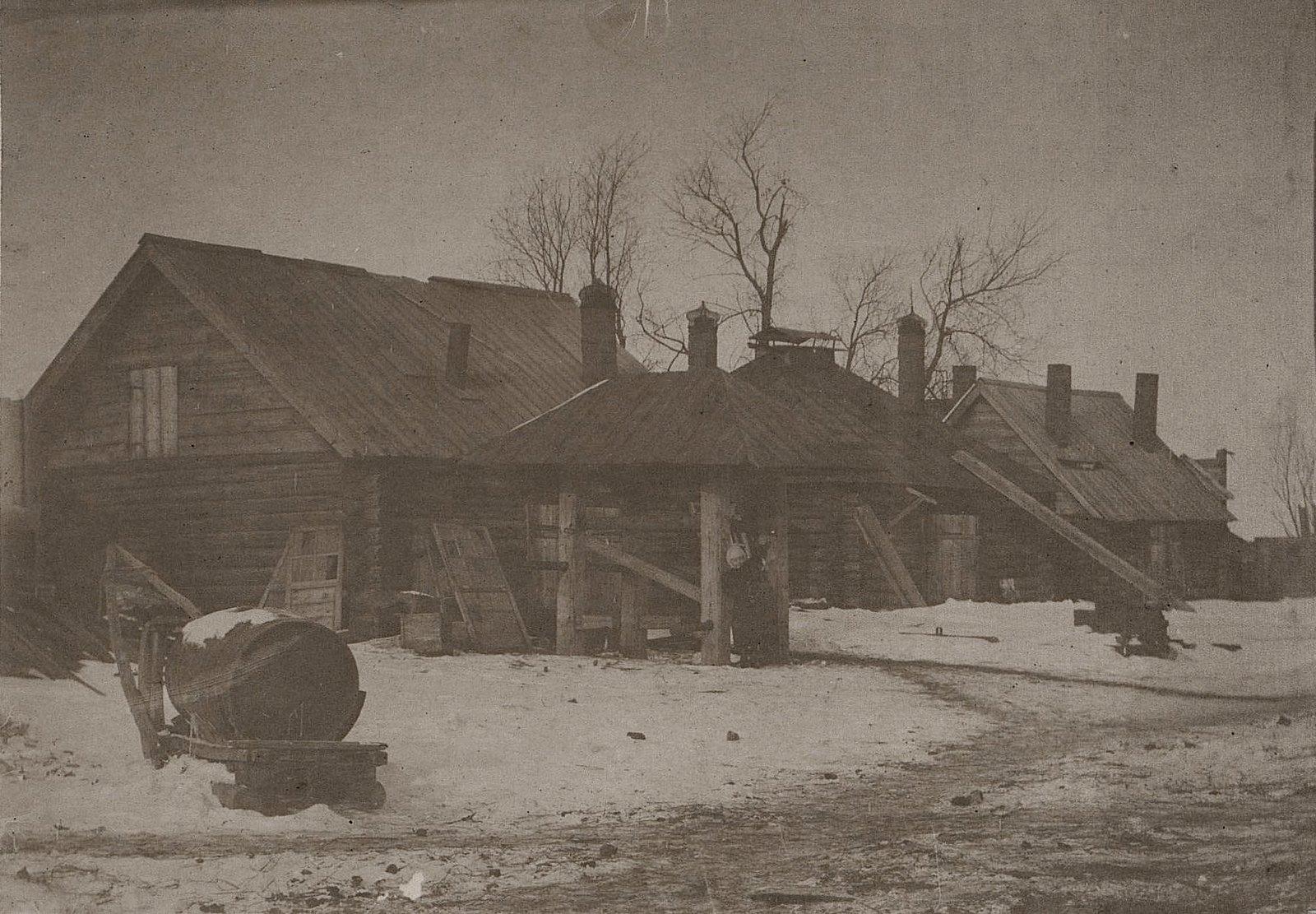 21. Подсобная кузница для хозяйственных нужд на заводе Завьялова. 1890-е