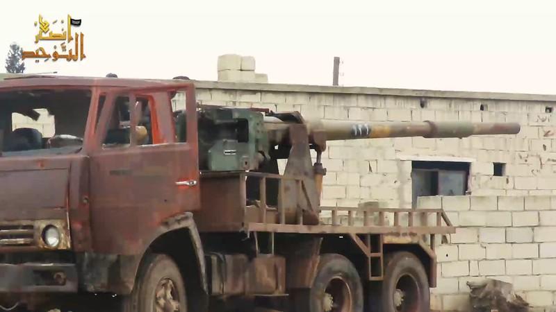 115mm-2A20-T-62-KamAZ-ansar-al-tawhid-syria-2020-twco-1