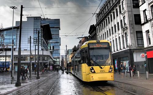 UK - Manchester tram