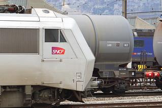 008. Une Sybic, BB 426118 SNCF en gare de la Praille, Genève (17.02.2020)