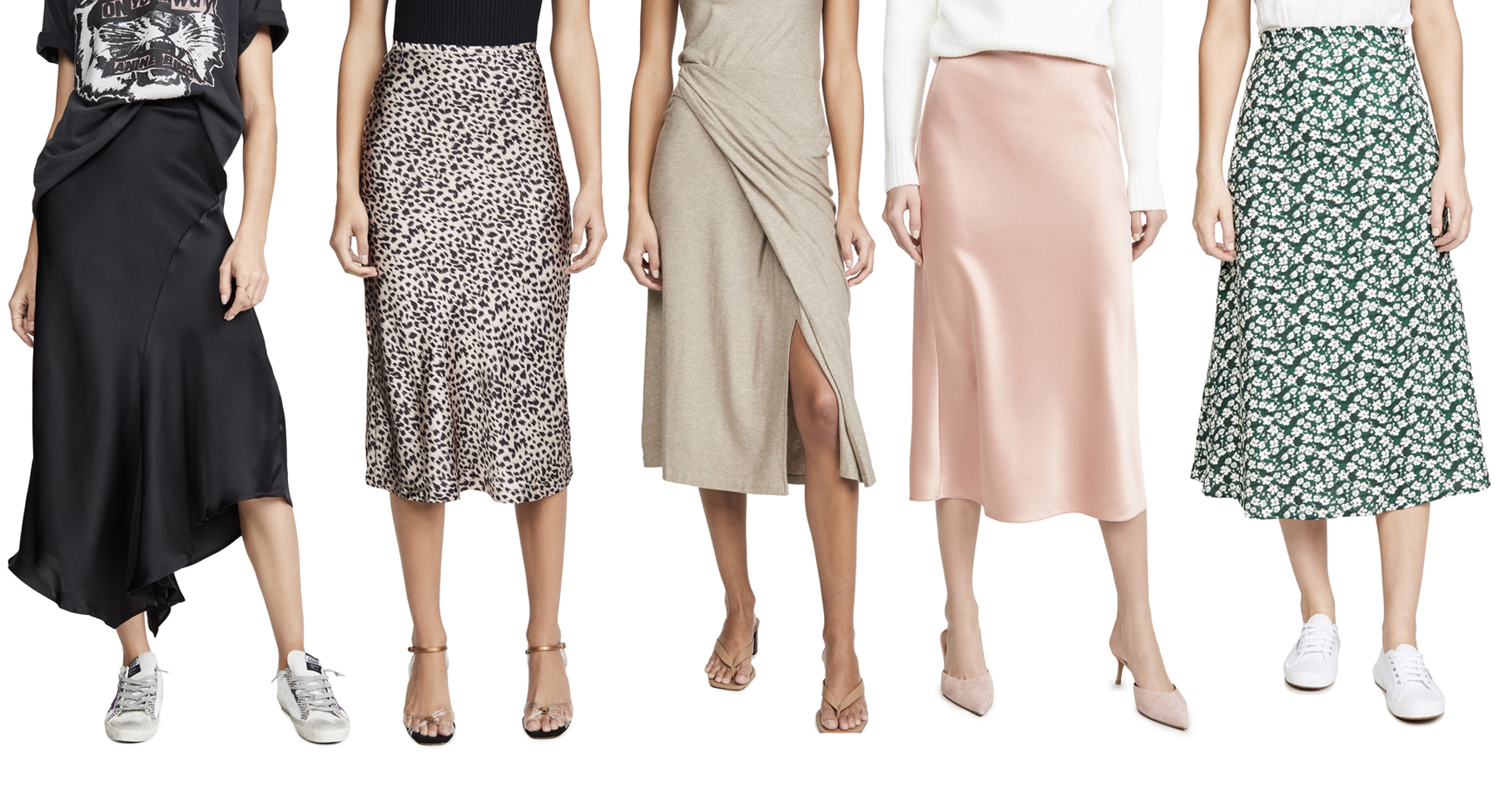 Shopbop Silky Skirts