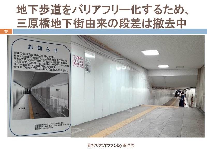 東京オリンピックに向けて銀座の地下で何が起こっていたのか (35)