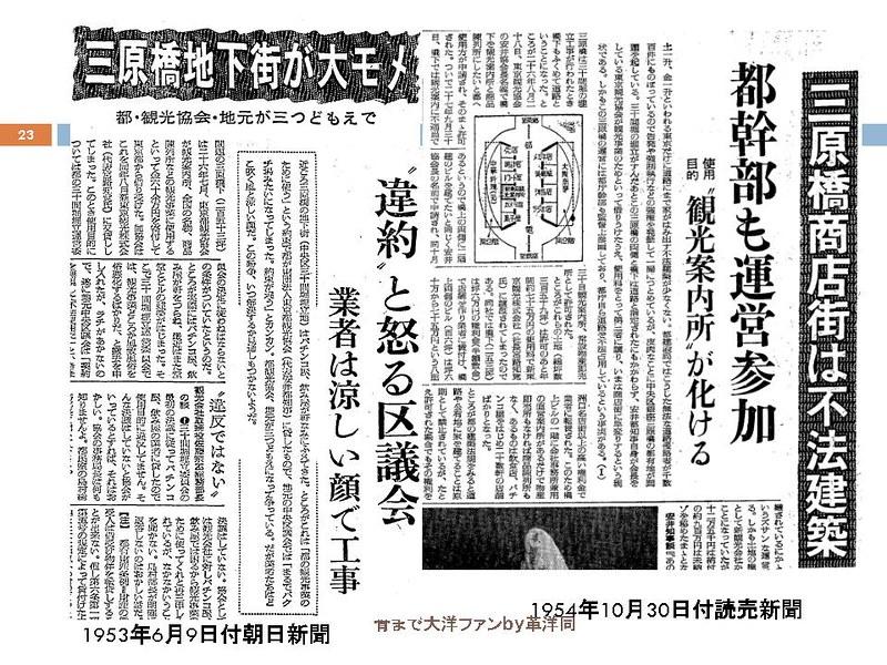 東京オリンピックに向けて銀座の地下で何が起こっていたのか (23)