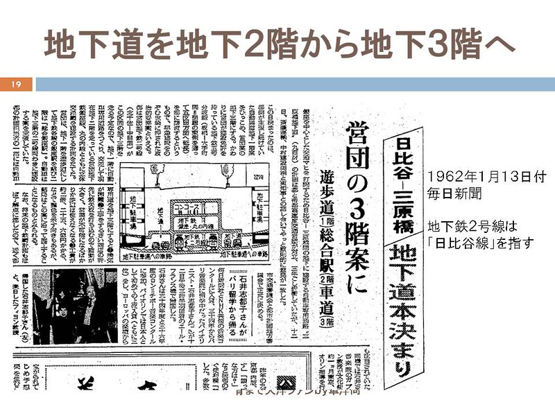 東京オリンピックに向けて銀座の地下で何が起こっていたのか (19)