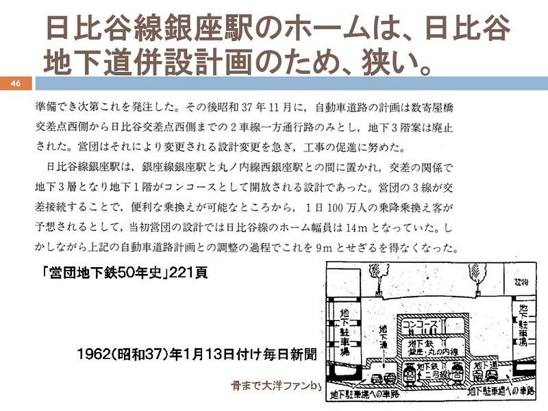 東京オリンピックに向けて銀座の地下で何が起こっていたのか (46)
