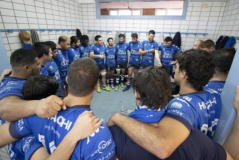 Rugby. Partido oficial de la Universidad Pablo de Olavide