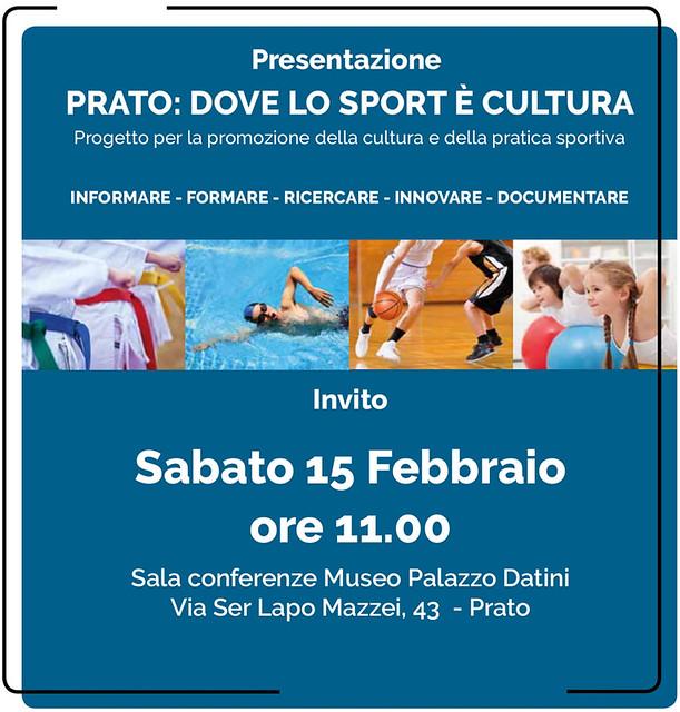 15-02-20: PRATO DOVE LO SPORT E' CULTURA