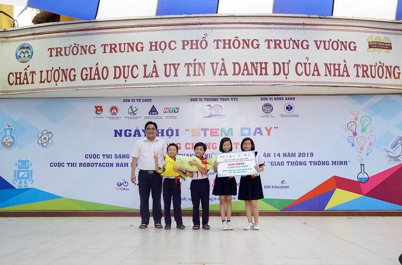 Cuộc thi Sáng tạo thanh thiếu nhi TP. HCM lần 14 năm 2019