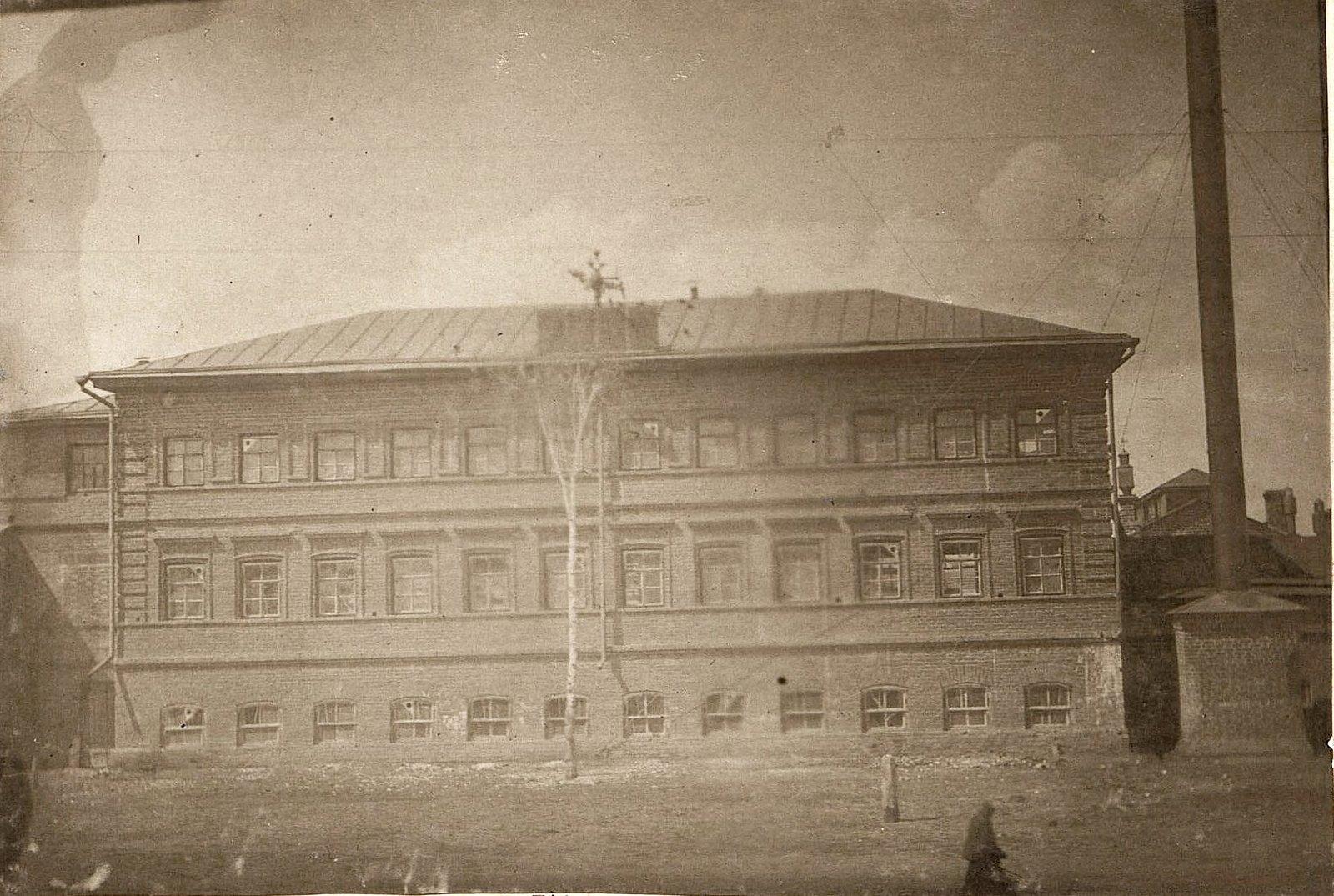 20. Здание прессовального и шлифовального цехов завода Завьялова. 1890-е