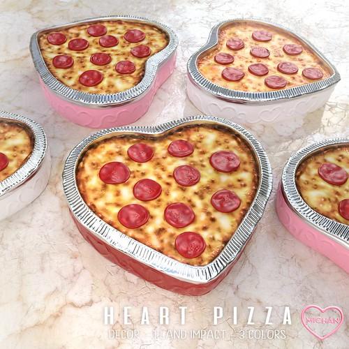 Heart Pizza @ Stupid Cupid