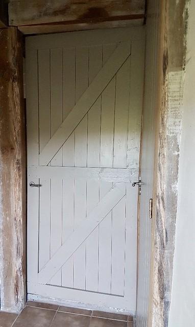 Houten deur woonboerderij landelijk