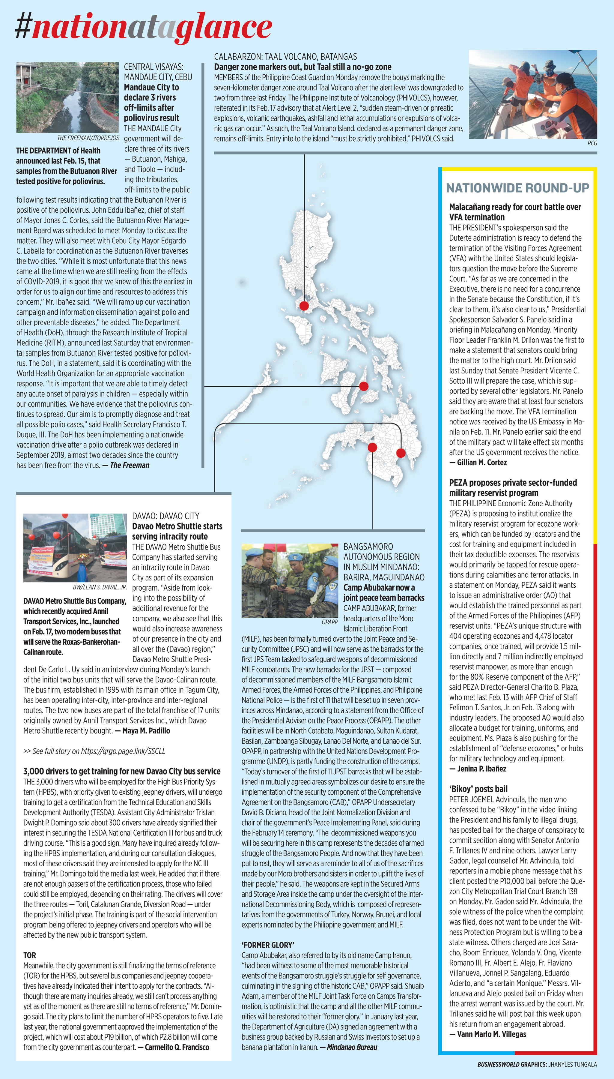 Nation at a Glance — (02/18/20)